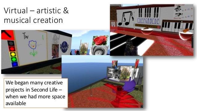Virtual Practicum - migration to Open Sim Slide 2