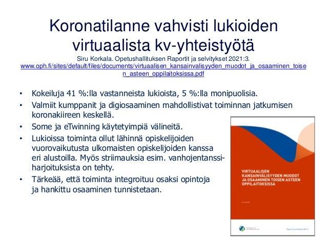 Virtuaaliretket kielten ja kulttuurin opetuksessa 16.2.21 Slide 3