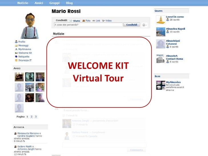 WELCOME KIT <br />Virtual Tour<br />