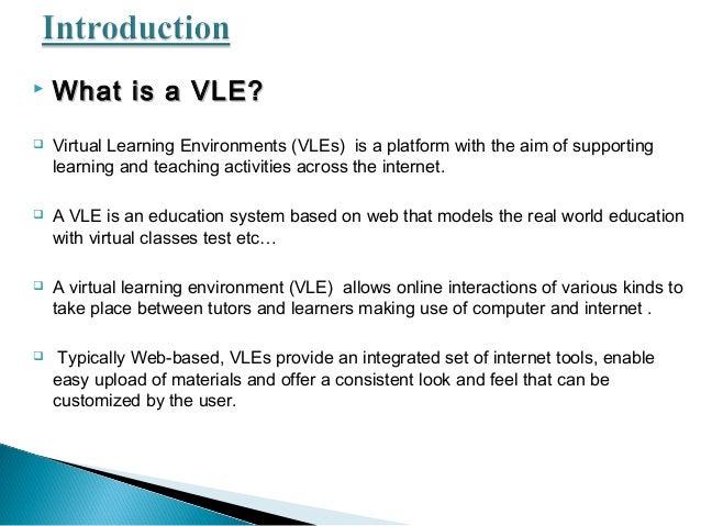 Virtual Learning Environment