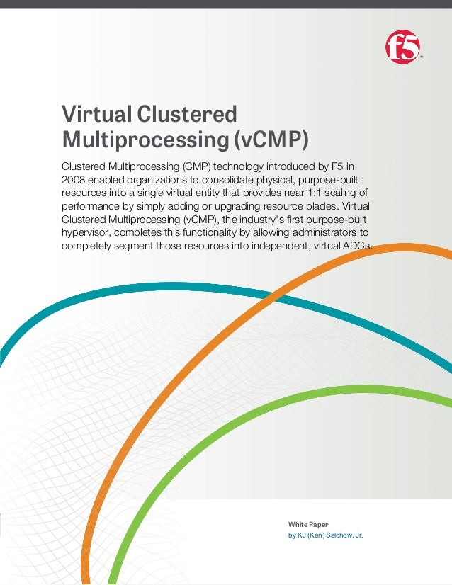 Virtual clustered-multiprocessing-vcmp