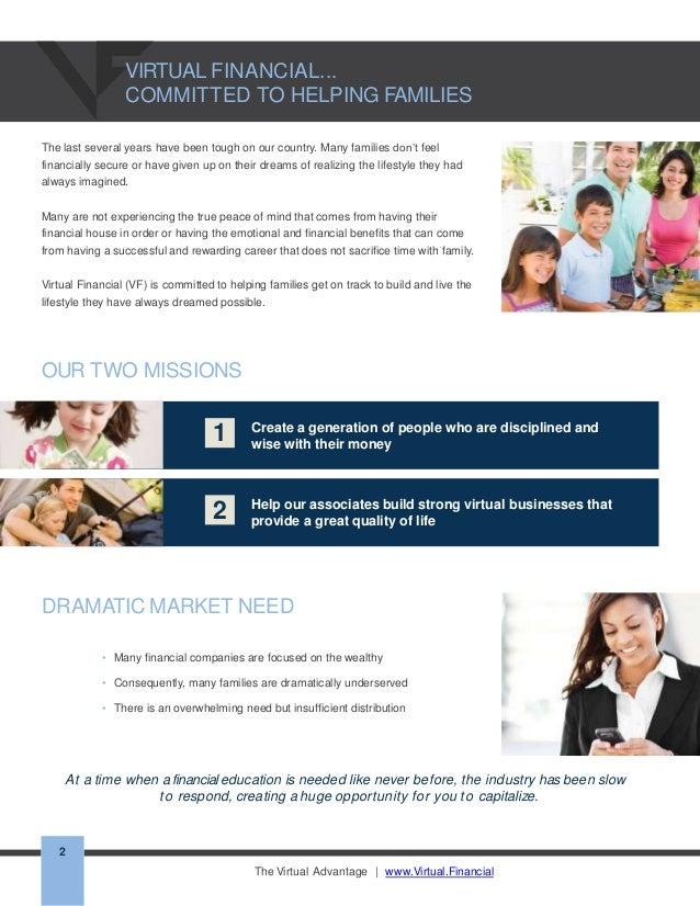 virtual financial group recruiting brochure