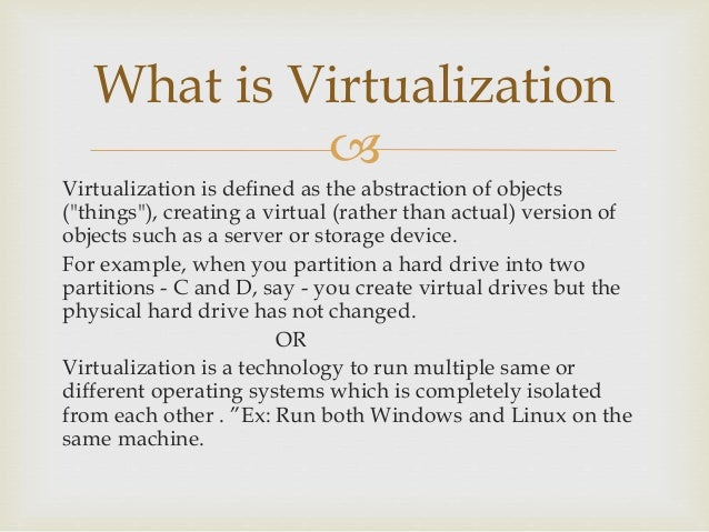 virtual machine meaning