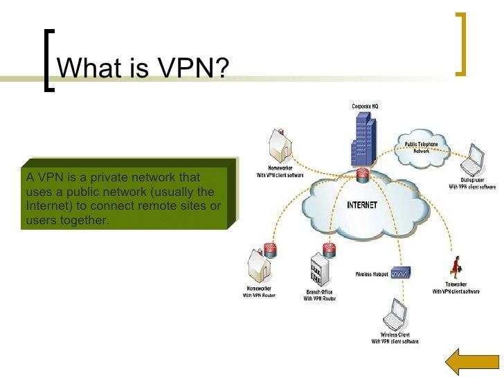 Of VPN Tradeoffs In 3