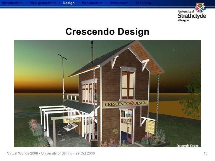 Crescendo Design Introduction  •  Idea generation   •  Design   •  Manufacture  •  Discussion  •  Teaching