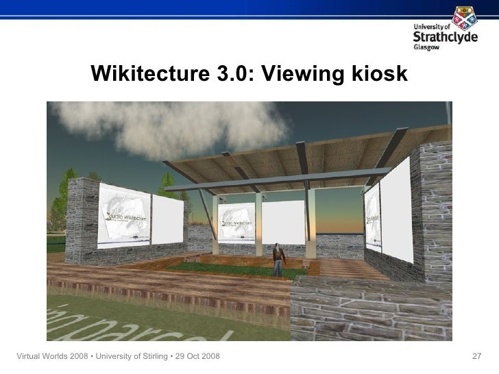 Wikitecture 3.0: Viewing kiosk