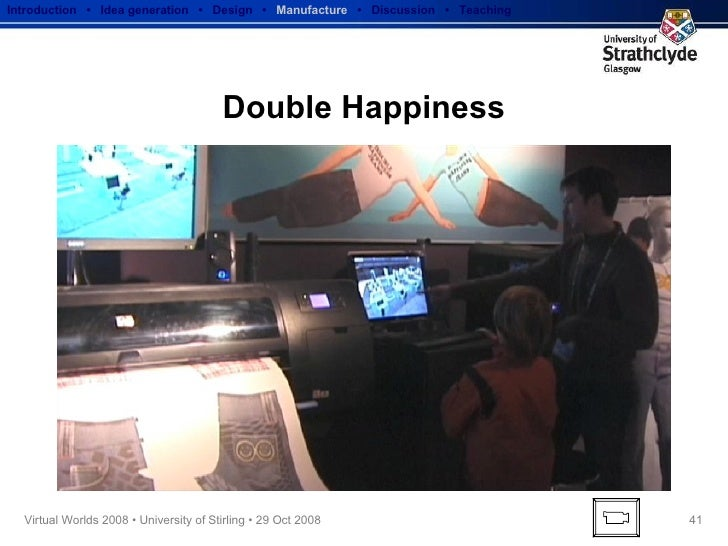 Double Happiness Introduction  •  Idea generation   •  Design   •  Manufacture   •  Discussion  •  Teaching
