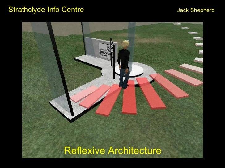 Strathclyde Info Centre Jack Shepherd <ul><li>Reflexive Architecture </li></ul>