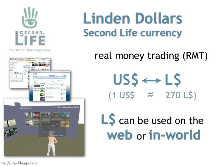 SECOND LIFE OPENS THE LINDEX CURRENCY EXCHANGE