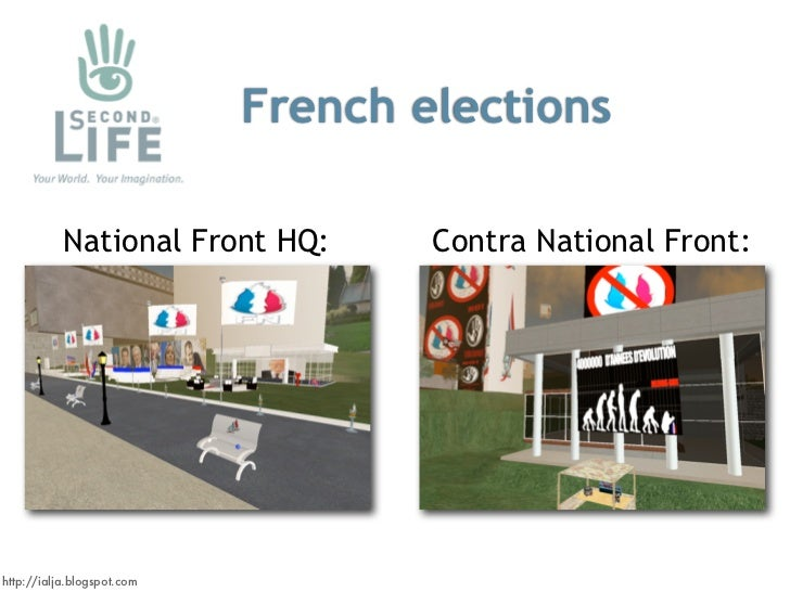 French elections             National Front HQ:       Contra National Front:     http://ialja.blogspot.com