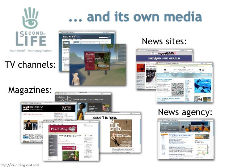 ... and its own media                                        News sites:    TV channels:       Magazines:                 ...