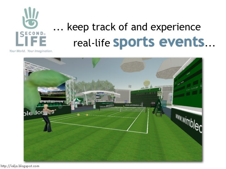 ... keep track of and experience                                             sports events...                             ...