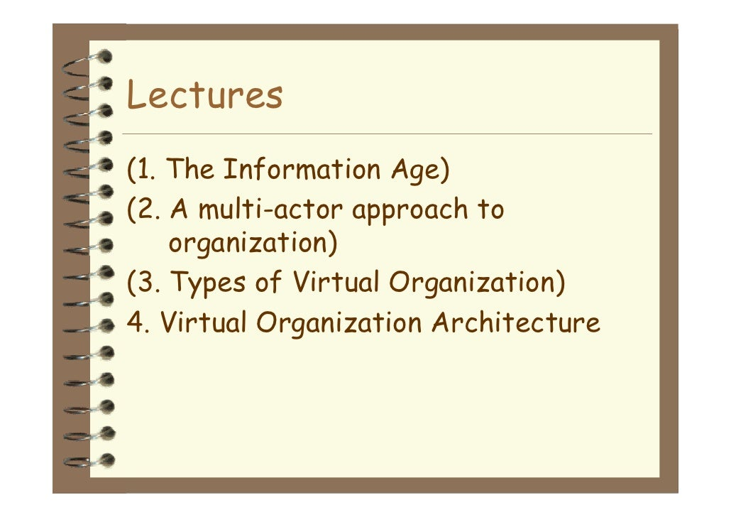 virtual organization Challenges of leading in virtual organizations margaret lee recognize, however, that with these advantages comes a list of new challenges for the leaders of virtual teams.