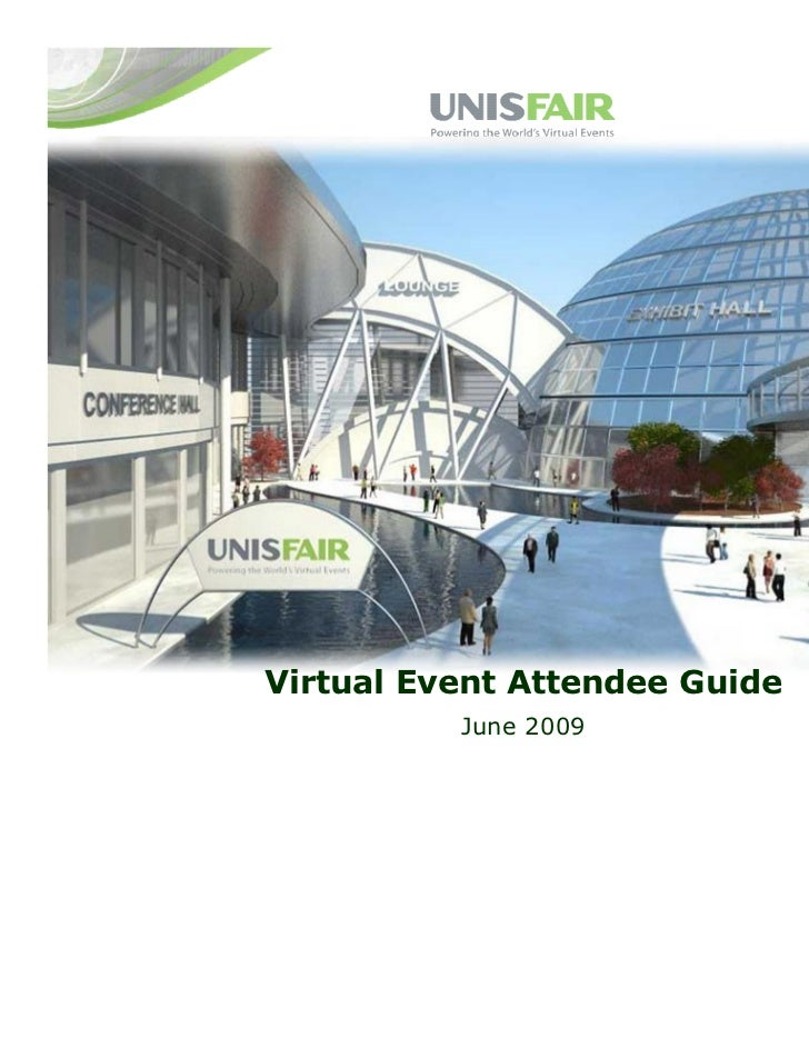 Virtual Event Attendee Guide          June 2009
