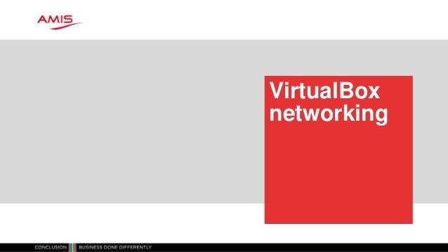 VirtualBox networking