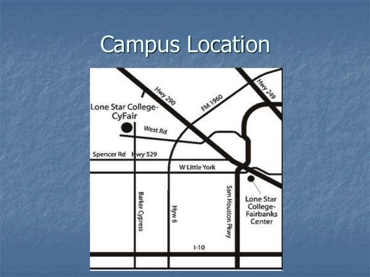 Lsc Cyfair Campus Tour