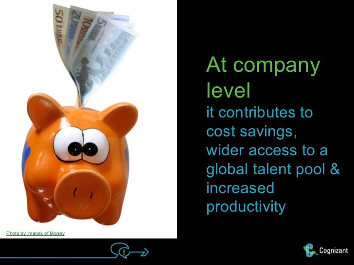 At company                           level                           it contributes to                           cost savi...