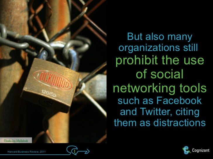 But also many                                   organizations still                                  prohibit the use     ...