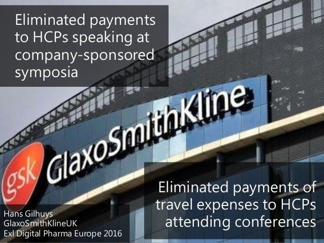 Eliminated payments to HCPs speaking at company-sponsored symposia Eliminated payments of travel expenses to HCPs attendin...