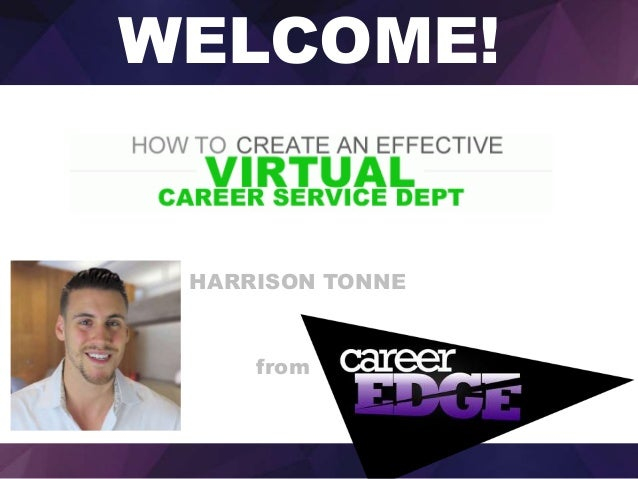 HARRISON TONNE from WELCOME!
