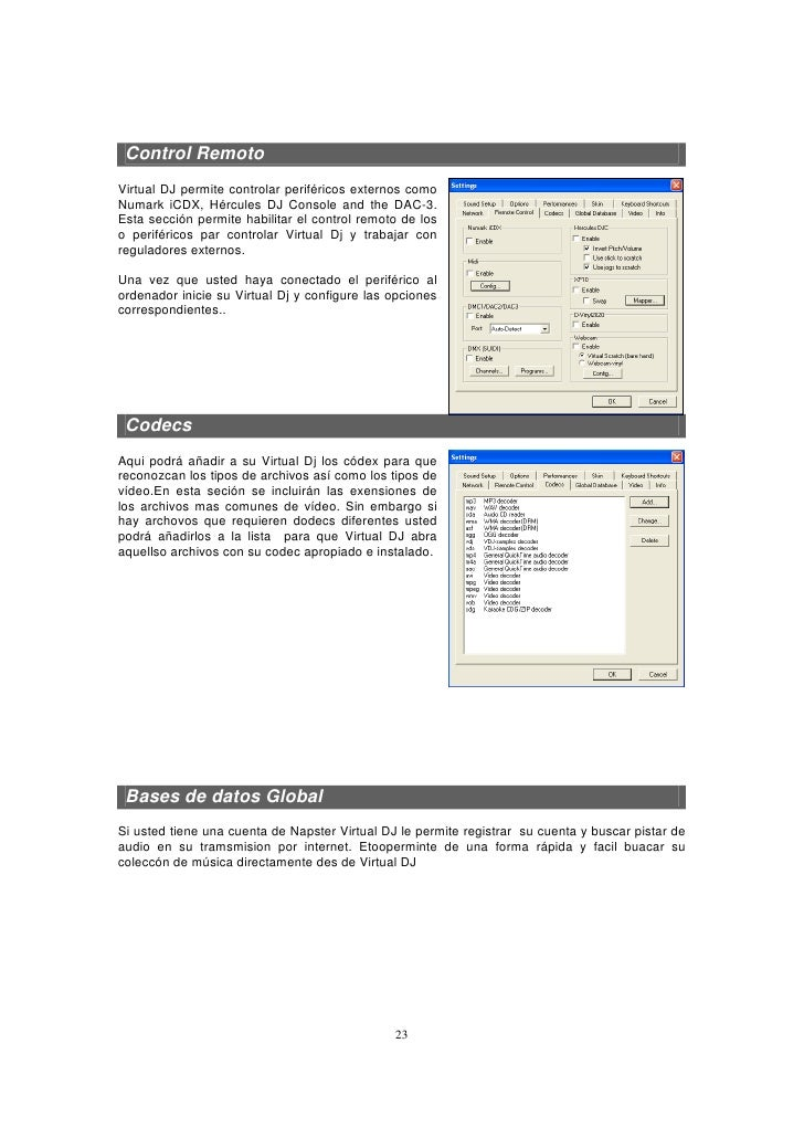 Manual de usuario mp4 codec