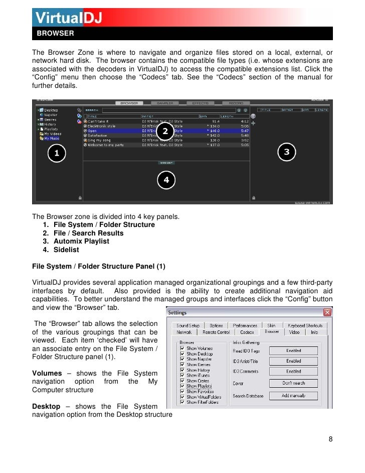 virtual dj 8 manual