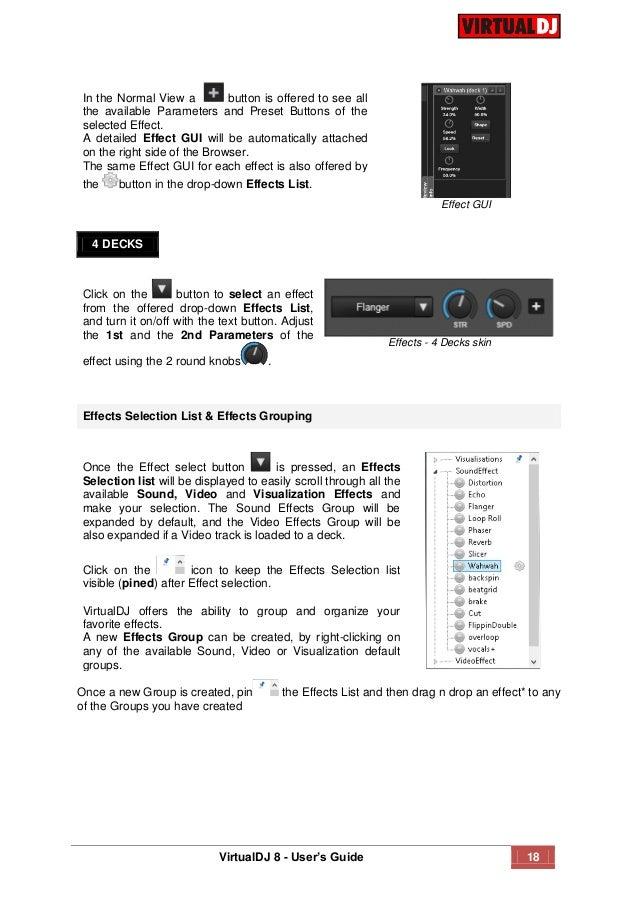 Virtual dj 8 user guide
