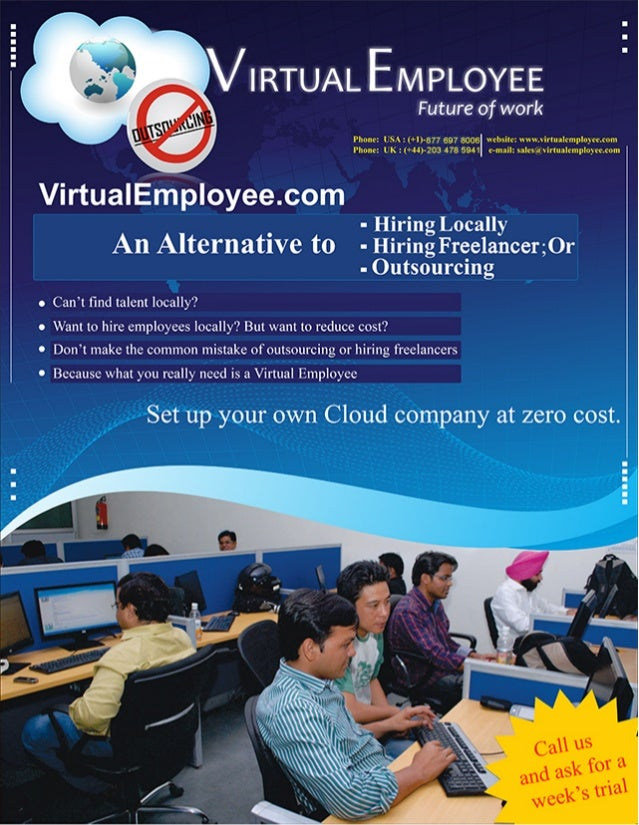 VirtualEmployee.com, the best alternative to local hiring or outsourcing