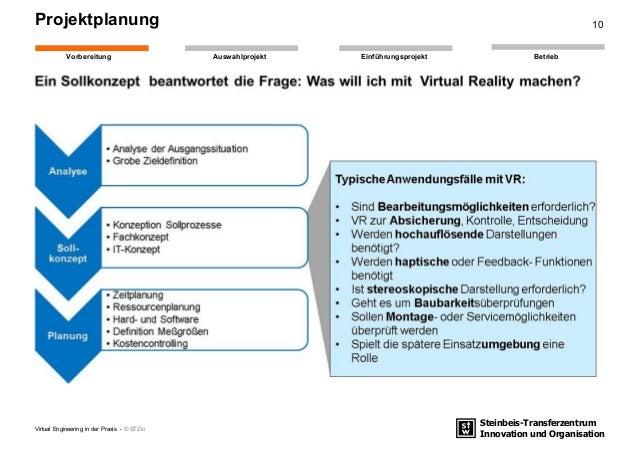 Steinbeis-Transferzentrum Innovation und Organisation EinführungsprojektAuswahlprojekt BetriebVorbereitung Projektplanung ...
