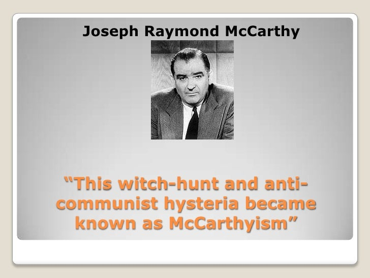 the political career of senator joseph mccarthy A more instructive parallel, however, might be to sen joseph mccarthy, of all people when one of mccarthy's senate aides, g david schine, was drafted into the army and sent to basic training at.