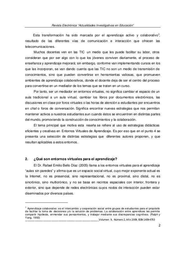 ESTRATEGIAS DIDÁCTICAS CREATIVAS EN ENTORNOS VIRTUALES PARA EL APRENDIZAJE Slide 3
