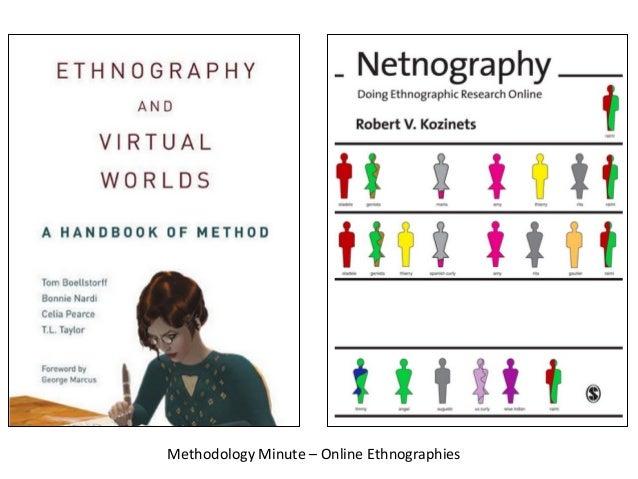 Methodology  Minute  –  Online  Ethnographies