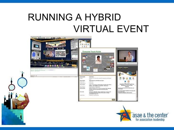 RUNNING A HYBRID    VIRTUAL EVENT
