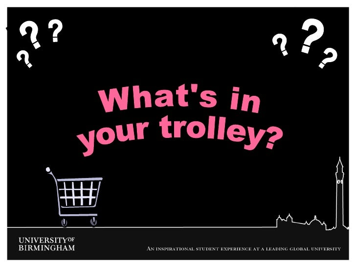 What's in your trolley?