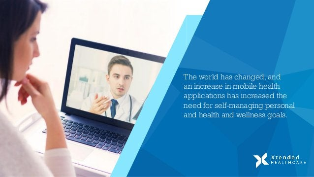 The world has changed, and an increase in mobile health applications has increased the need for self-managing personal and...