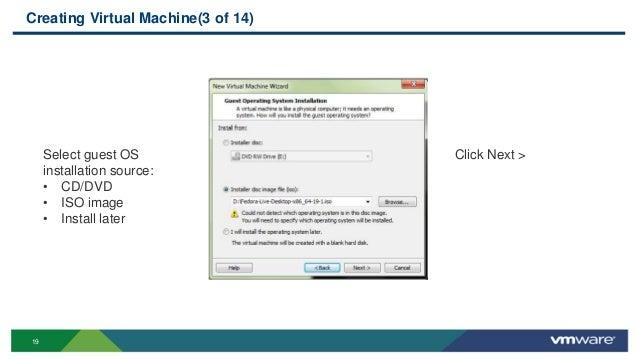 Virtualization using VMWare Workstation