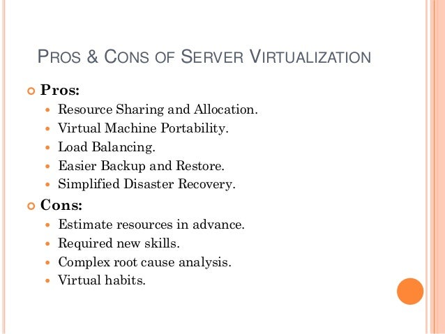 Virtualization and Open Virtualization Format (OVF)