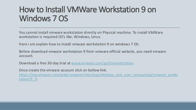 vmware workstation 9 free download for linux