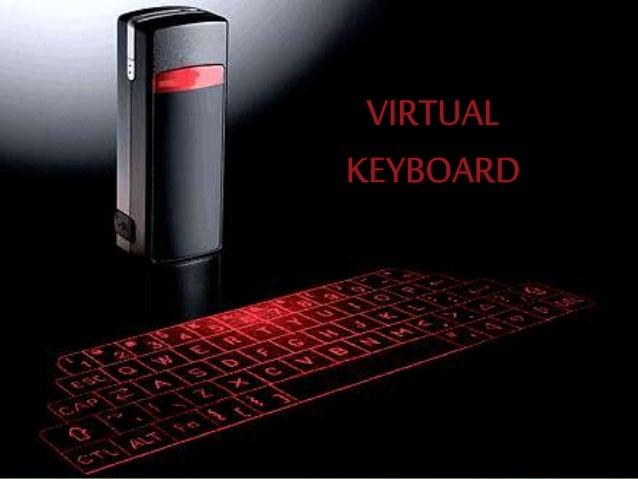 What is virtual keyboard