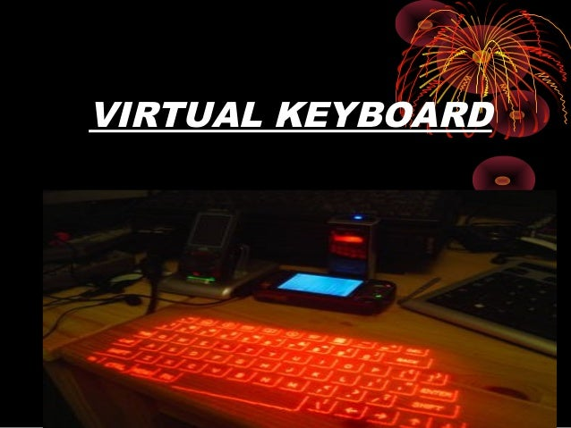 Virtual Keyboard Ppt