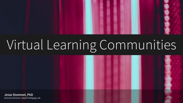 Virtual Learning Communities: 6 Theses for Creating a Sense of Belonging Online