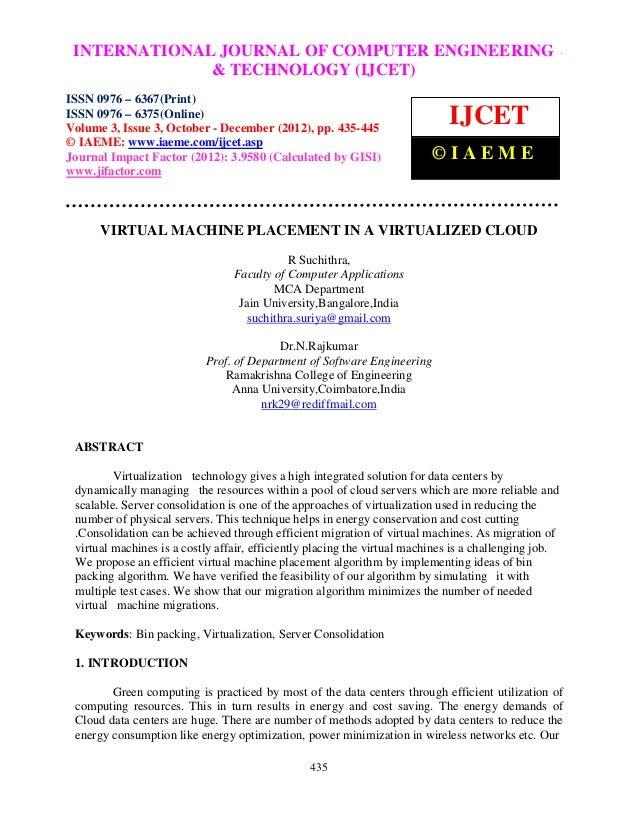 INTERNATIONALComputer EngineeringCOMPUTER ENGINEERING – International Journal of JOURNAL OF and Technology (IJCET), ISSN 0...
