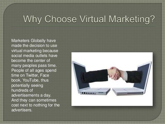 Virtual marketing Slide 3