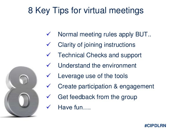 problem and virtual meeting Meetings can take a large bite out of your work day, especially if they take place offsite scheduling others to cover your work, making travel arrangements and planning for a space to accommodate attendees take time away from other commitments you could be handling virtual meetings can take some.