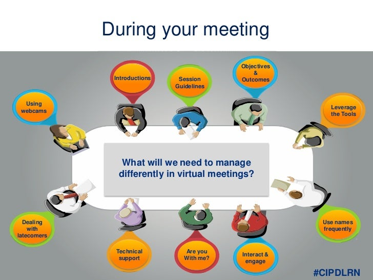 Virtual meetings and their etiquette