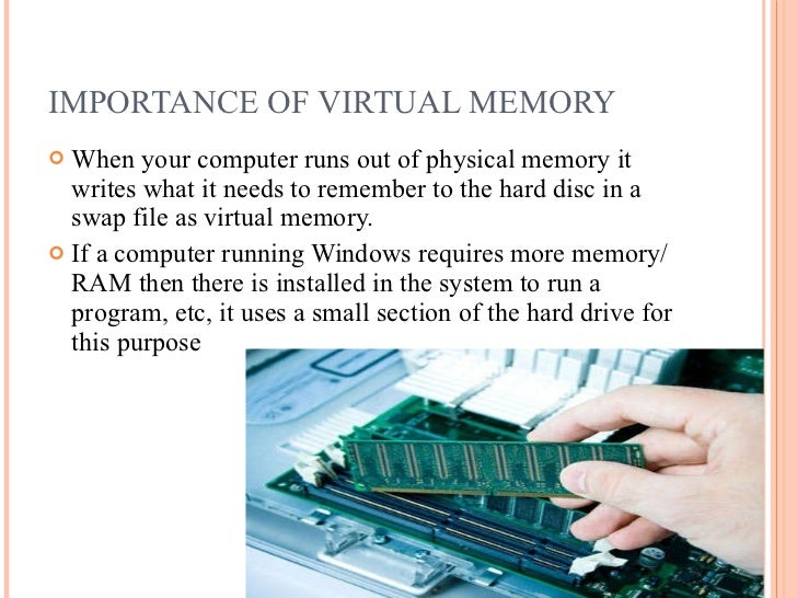 The importance of a memory