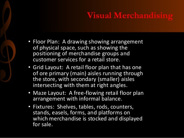 virtual merchandising A visual merchandiser oversees and coordinates the display exhibits in all parts of a retail store you decide the theme and feel of a store, then evoke that environment through visual displays.
