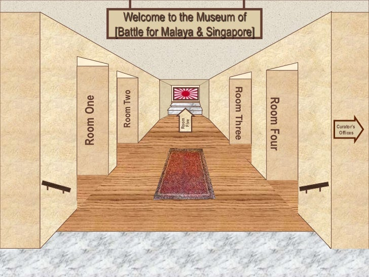 Welcome to the Museum of           [Battle for Malaya & Singapore]                                     Room Three         ...