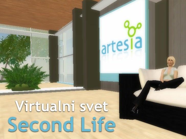 Virtualni svet Second Life