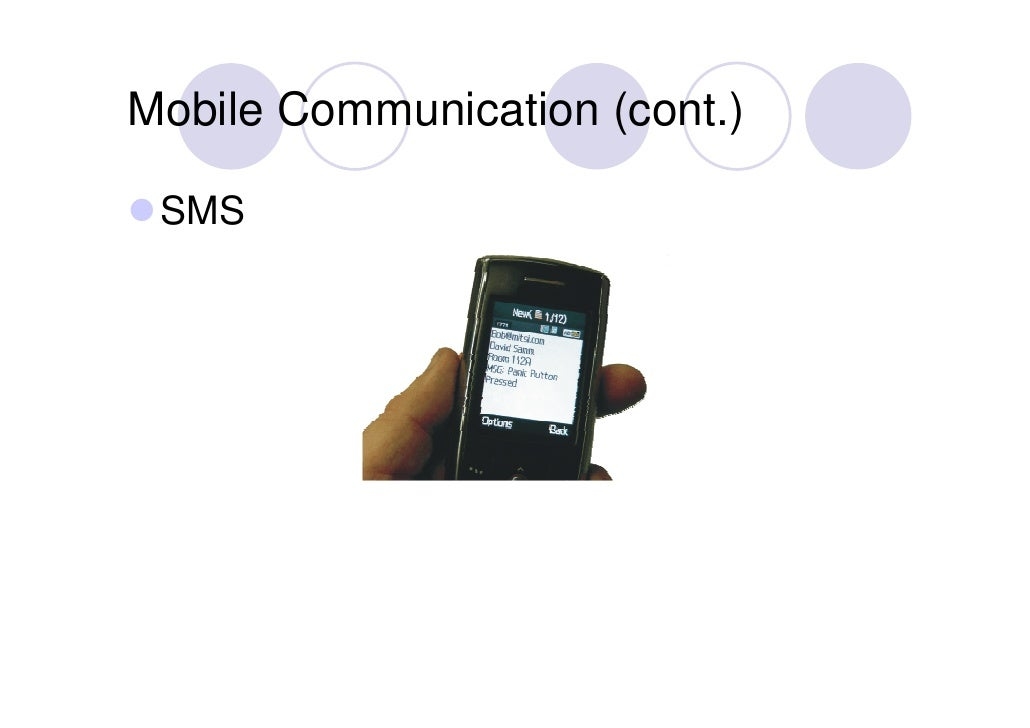 virtual office tools. Mobile Communication (cont. Virtual Office Tools D